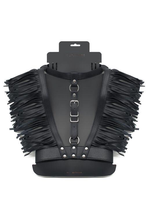 Black Fringing Body Harness image number 3.0