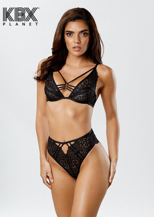 Knickerbox Planet -The Charmer Non Padded Bra image number 6.0