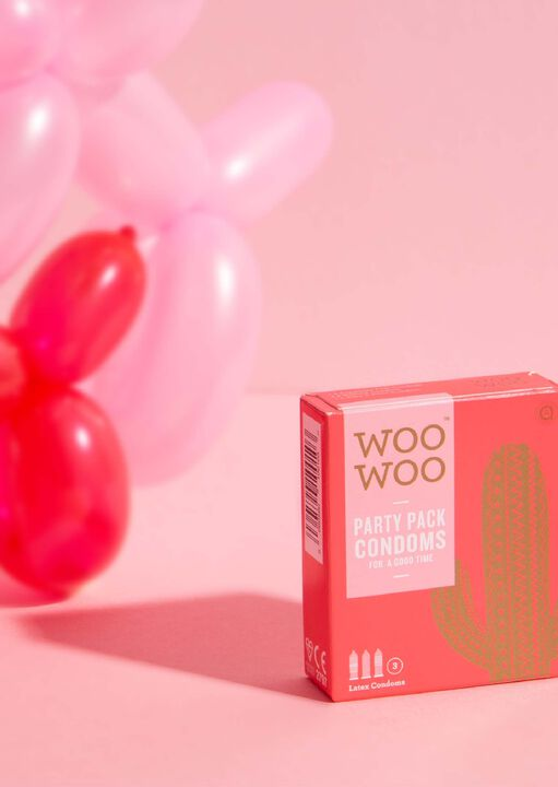 Woo Woo Party pack Condoms 3 Pack image number 2.0