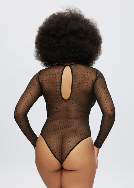 The Lucky Night Long Sleeve Crotchless Body image number 5.0