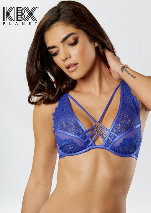 Knickerbox Planet -The Charmer Non Padded Bra image number 4.0