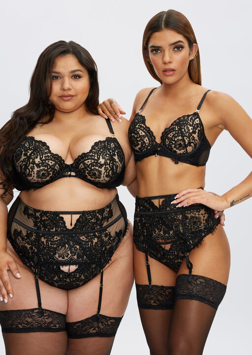 Fiercely Sexy Plunge Bra image number 1.0