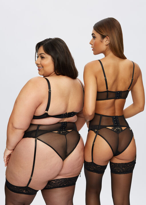 Fiercely Sexy Plunge Bra image number 4.0