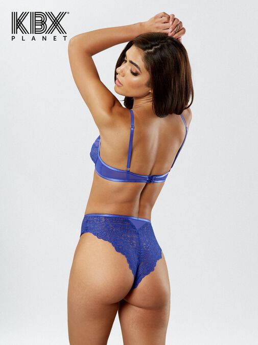 Knickerbox Planet -The Charmer Non Padded Bra image number 2.0