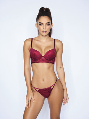The Magnetic Longline Plunge Bra