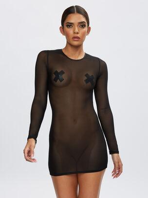 The Visionary Long Sleeve Dress