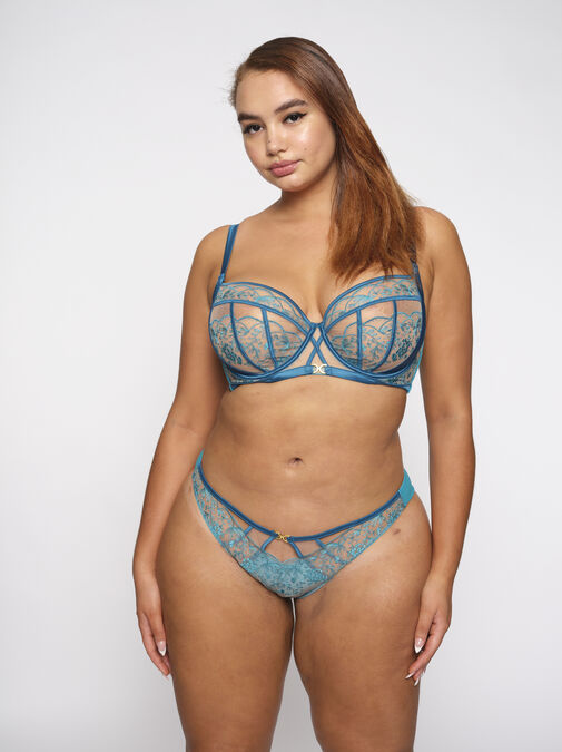 The Delightful Full Support Non Padded Bra image number 0.0