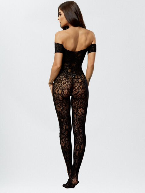The Commander Crotchless Bodystocking image number 2.0