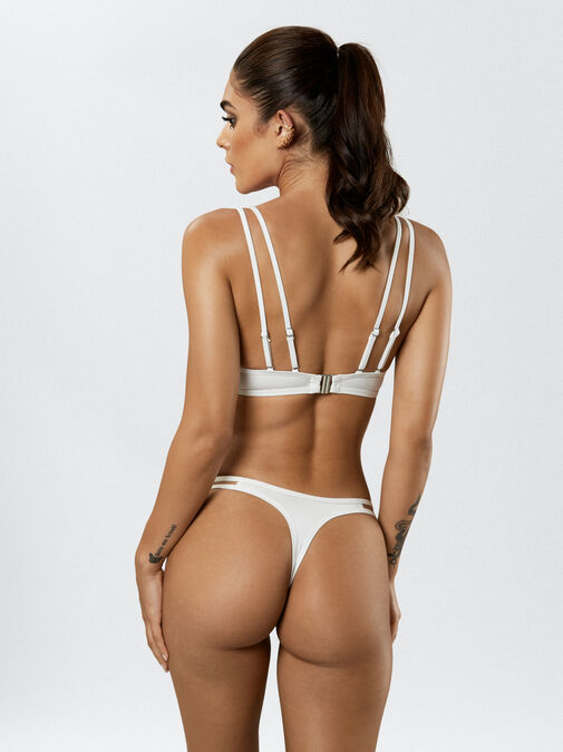 Fiercely Sexy Push Up Plunge Bikini Top image number 7.0