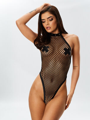 Dreamgirl Fishnet Body