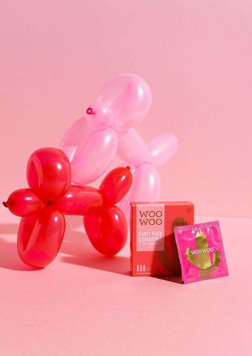 Woo Woo Party pack Condoms 3 Pack image number 3.0