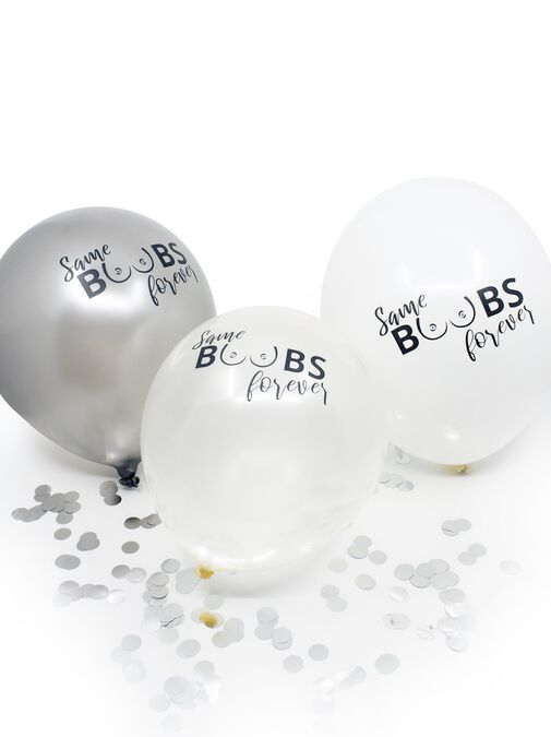 Same Boobs Forever Balloons image number 1.0