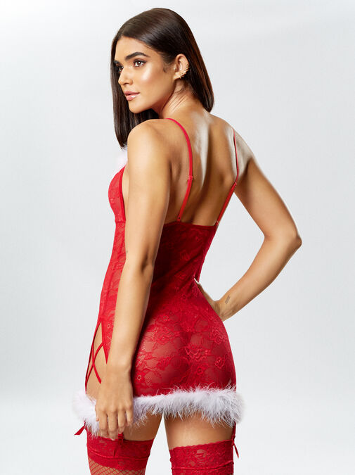 Sexy Miss Santa Chemise image number 1.0