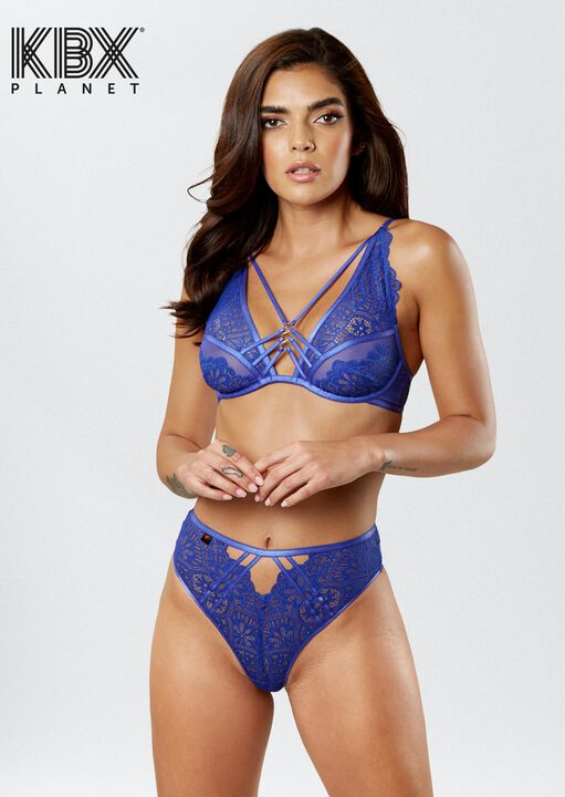 Knickerbox Planet -The Charmer Non Padded Bra image number 1.0