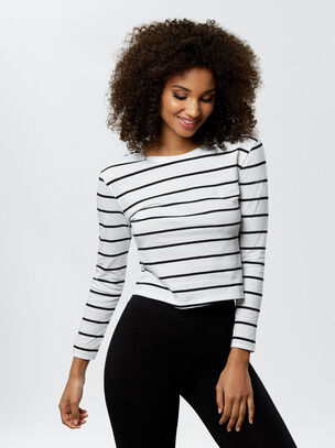 The Perfectly Imperfect Cropped T-Shirt
