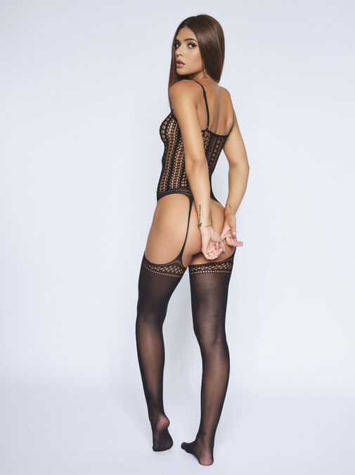 The Attitude Crotchless Bodystocking image number 1.0
