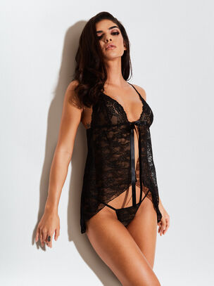 The Daydreamer Babydoll and String Set