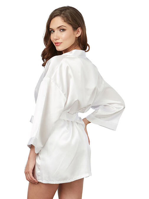 Dreamgirl Chemise and Robe Set  image number 1.0