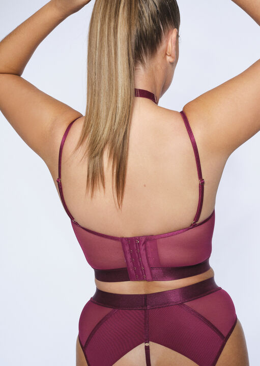 The Heartracer Longline Non Padded Bra image number 2.0
