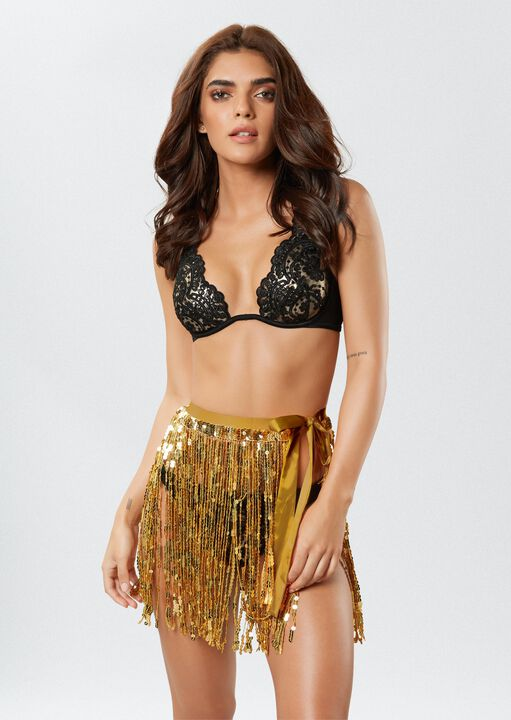 The Dazzling Sequin Skirt image number 2.0