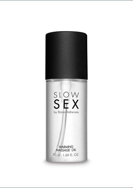 Bijoux Indiscrets Slow Sex Warming Massage Oil image number 5.0