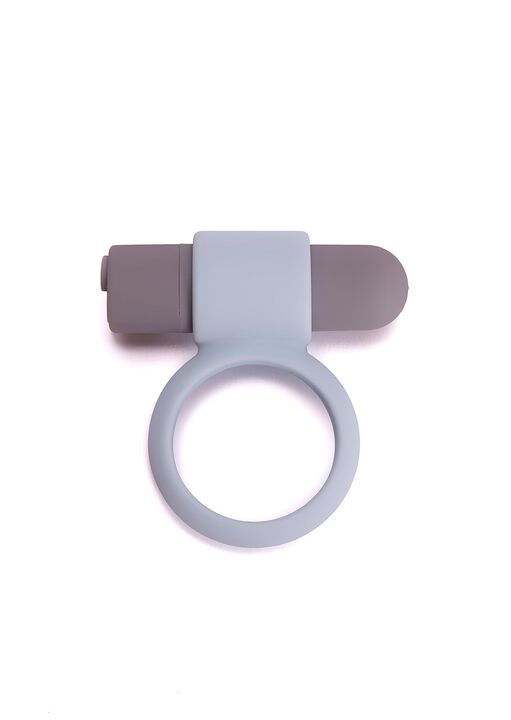 Rechargeable Vibrating Bullet Cock Ring image number 0.0