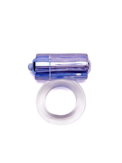 Ribbed Vibrating Cock Ring image number 0.0