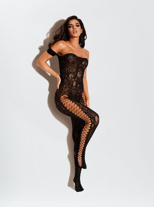 The Commander Crotchless Bodystocking