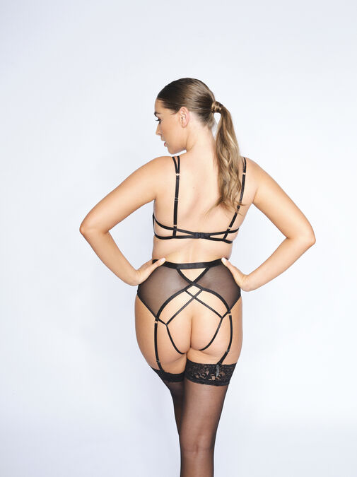 The Independent Woman Crotchless Set image number 1.0