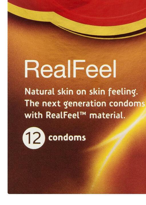 Durex Real Feel Non Latex 12 Pack Condoms image number 1.0