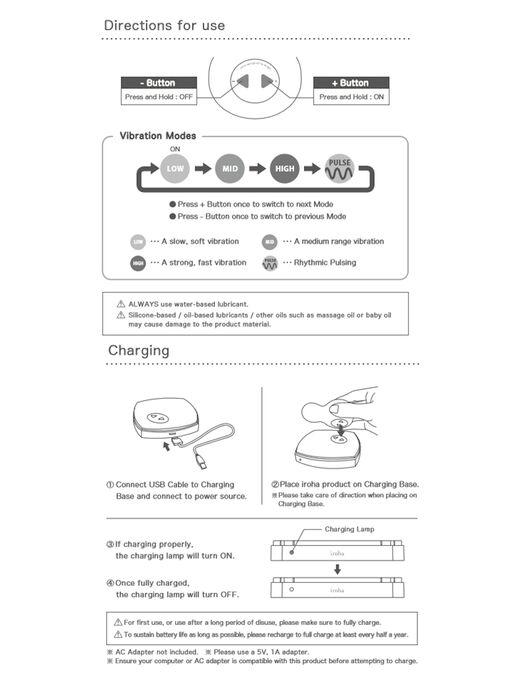 Tenga Iroha Sakura Clit Stim Vibrator image number 8.0