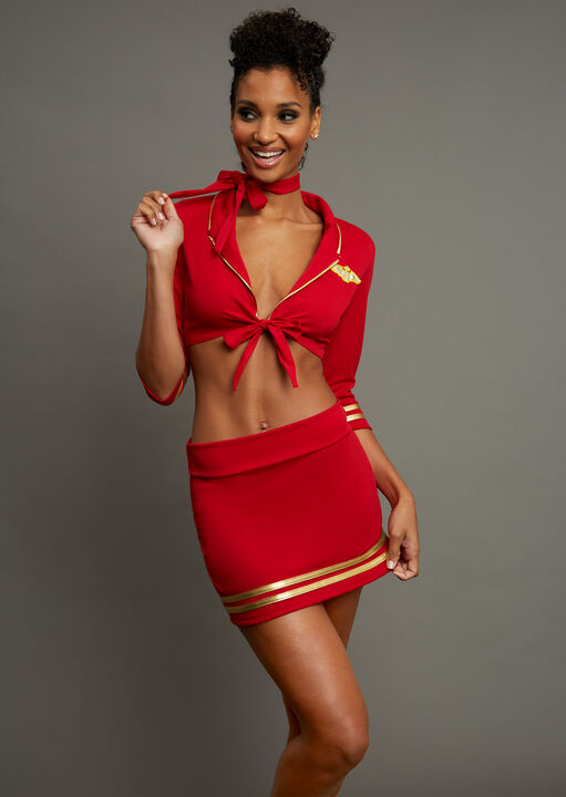 Sexy Air Hostess Outfit image number 0.0