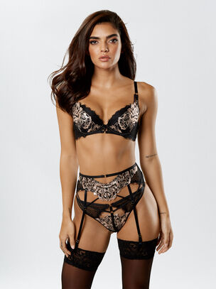 Sultry Evening Plunge Bra