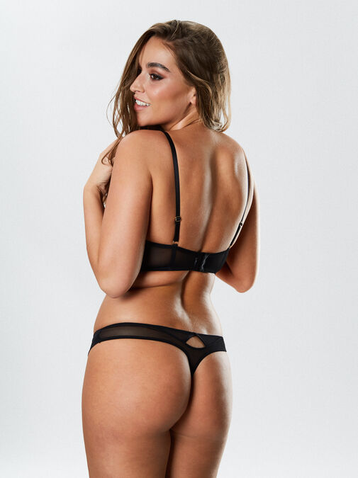 Lustful Promises Thong  image number 6.0