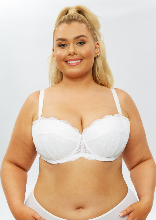 Sexy Lace Sustainable Balcony Bra image number 9.0