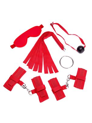 Red Beginners Bondage Set