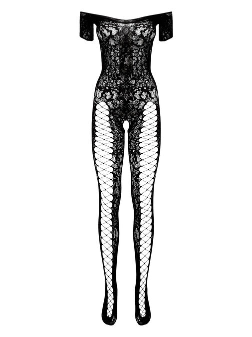 The Commander Crotchless Bodystocking image number 3.0