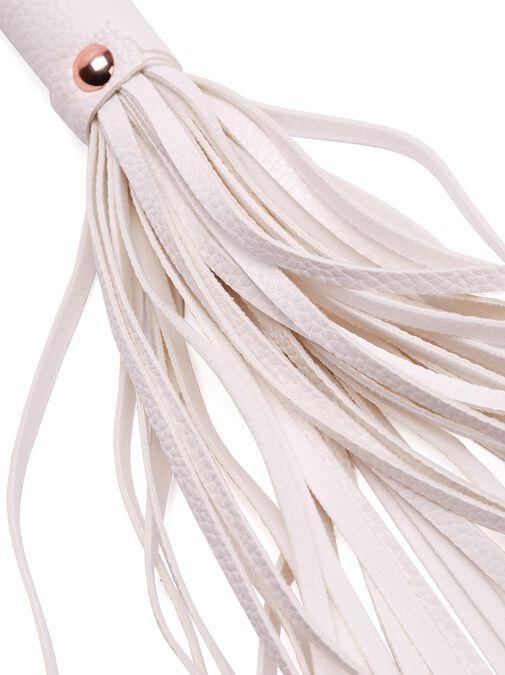 White Faux Leather Bondage Set image number 2.0