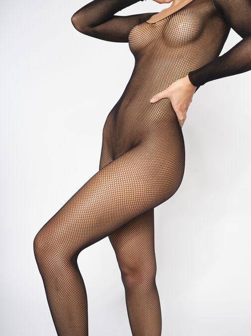The Ambition Crotchless Bodystocking image number 2.0