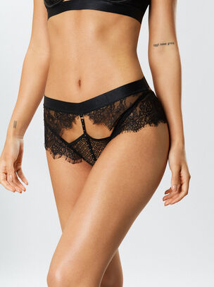 The It Girl Crotchless Brief