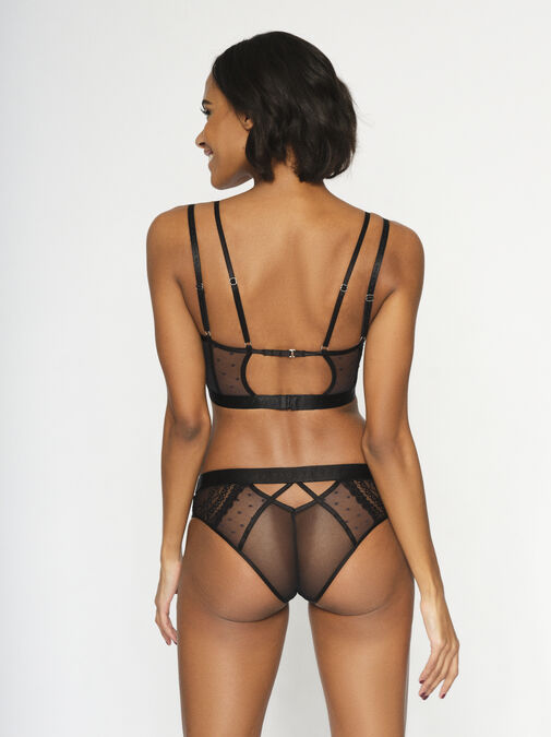 Knickerbox Planet - The Free Spirit Longline Non Padded Bra image number 2.0
