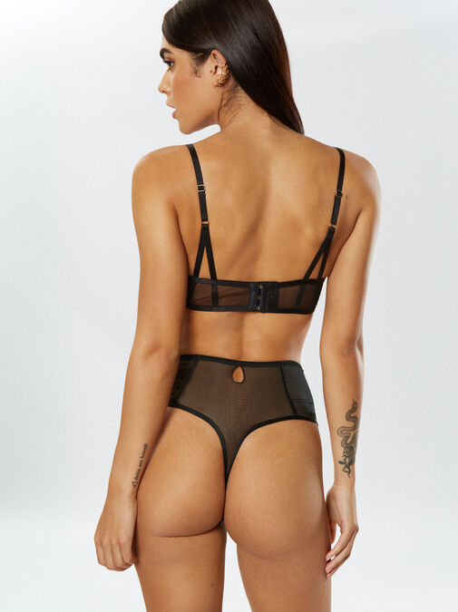 Fiercely Sexy High Waisted Thong  image number 1.0