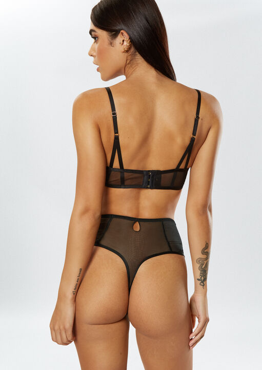 Fiercely Sexy High Waisted Thong image number 3.0