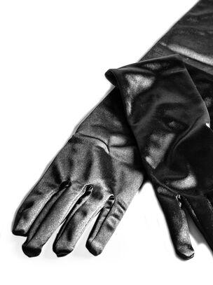 Elbow Length Satin Gloves