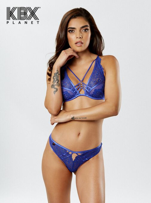 Knickerbox Planet -The Charmer Thong image number 3.0