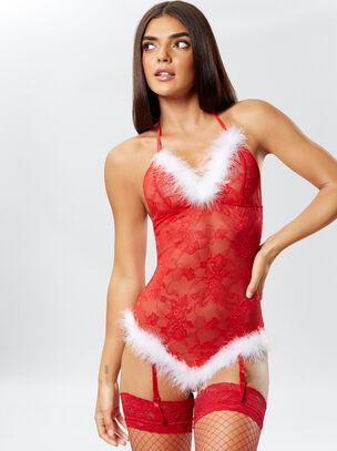 Sexy Miss Santa Body