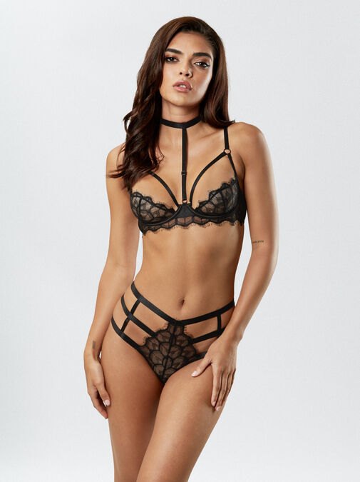 The Adored Quarter Cup Bra image number 0.0