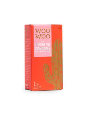 Woo Woo Thin Feel Sensitive Condoms 12 Pack