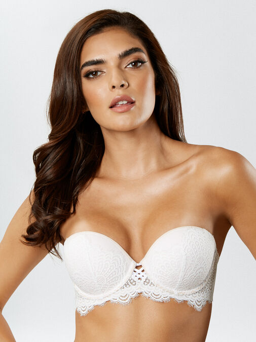 The Multiway Push Up Balcony Bra image number 0.0