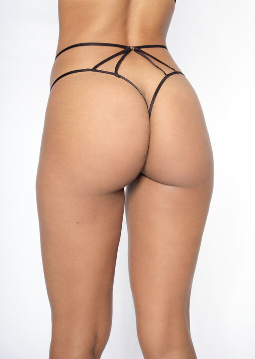 The Giveaway Crotchless Thong image number 1.0
